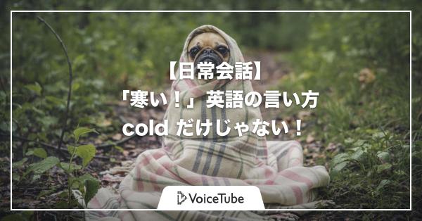 寒い 英語 寒い 英語 スラング
