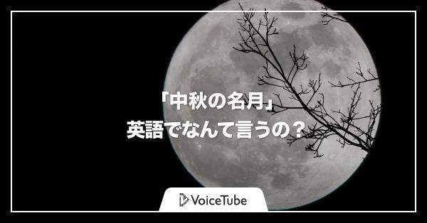 お月見, 英語